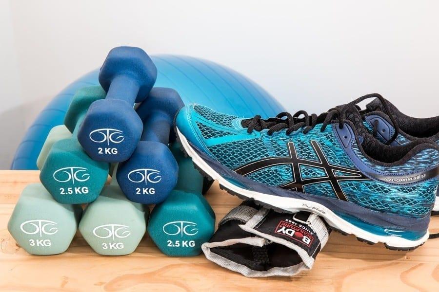 ciezarki trening fitness