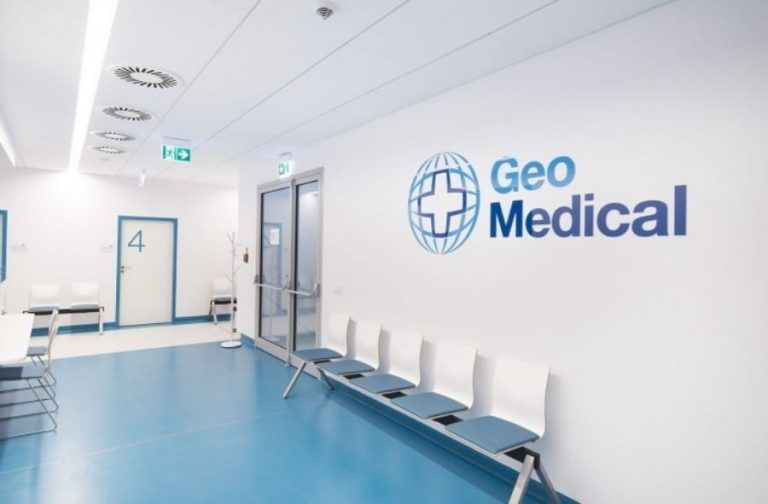 Geo Medical Hospital has suspended its activities