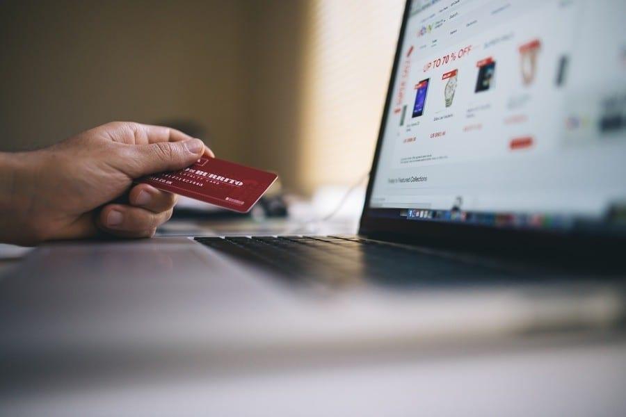 ecommerce zakupy internet karta kredytowa