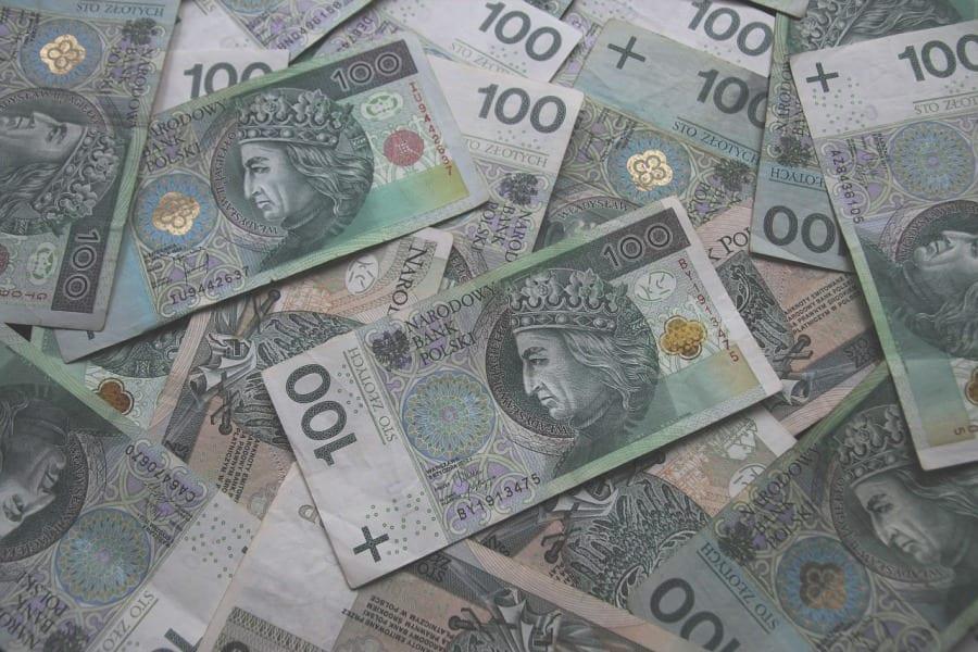 zlotowki pieniadze