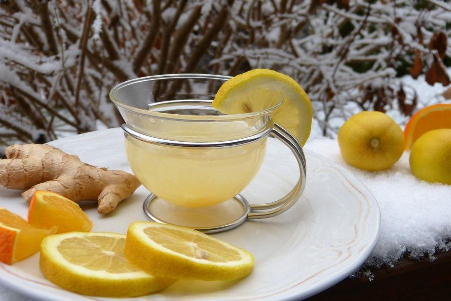 herbatka imbir cytryna