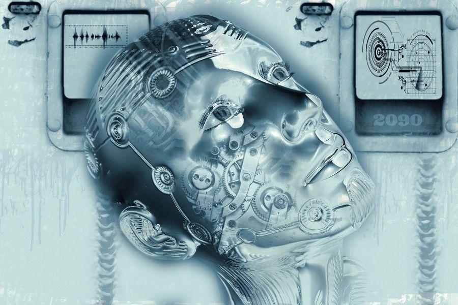 robot cyborg sztuczna inteligencja