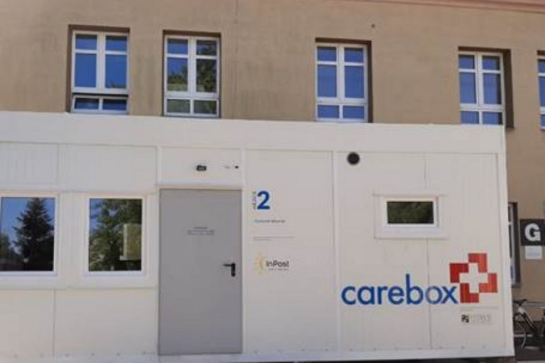 Admission room in the Care Box version