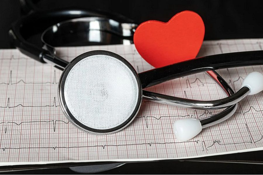 stetoskop serce echokardiografia