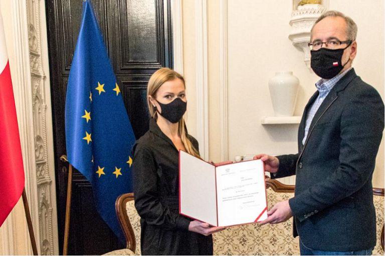 Anna Golawska Deputy Minister of Health