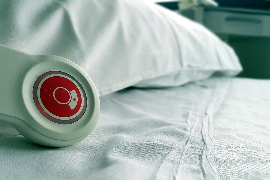 szpital łóżko poduszka
