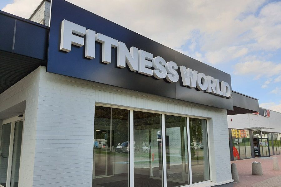 fitness world budynek
