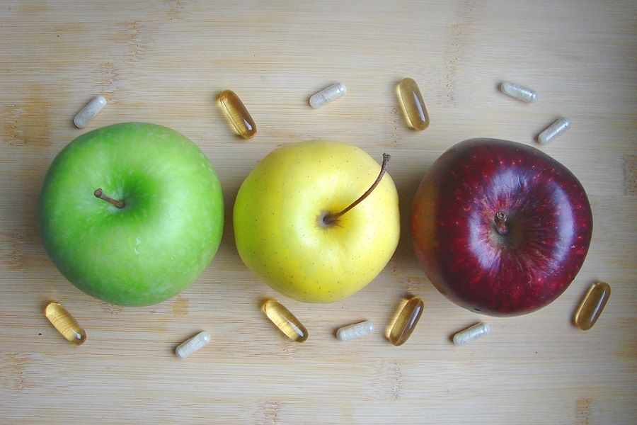 jablka suplementy tabletki
