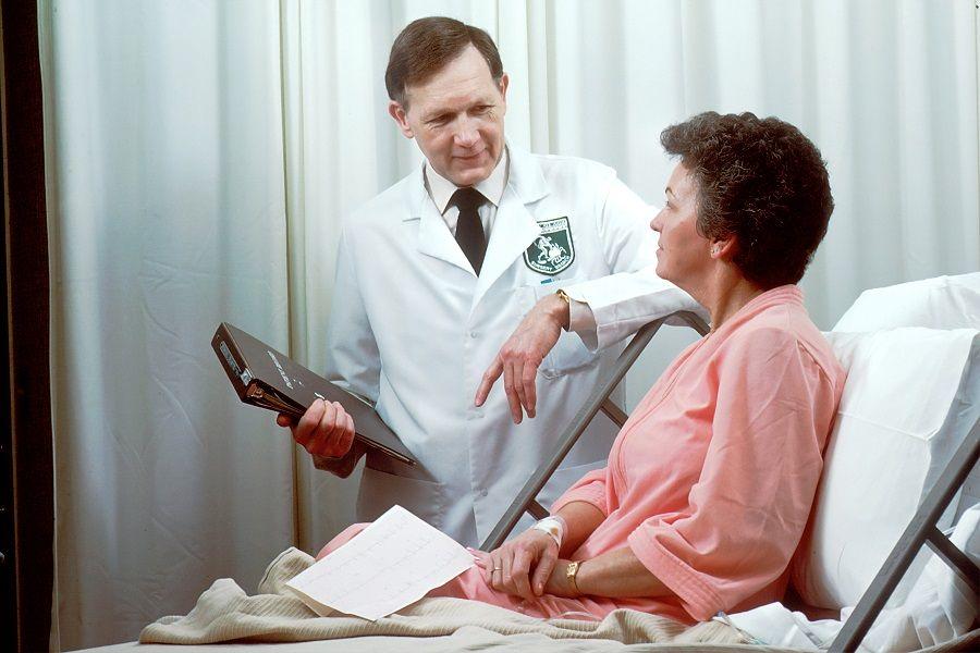 lekarz kobieta szpital