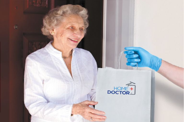 HomeDoctor delivers drugs to patients' homes
