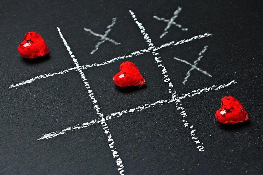 kolko i krzyzyk serce