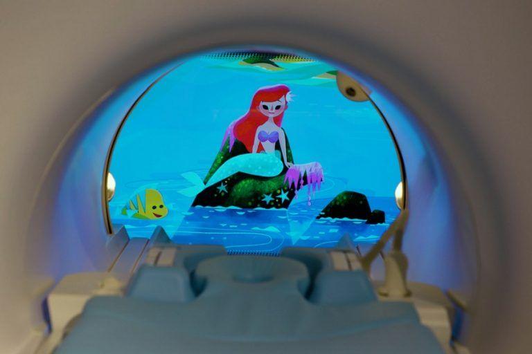 Philips: MRI will take children to Disney's fairytale world
