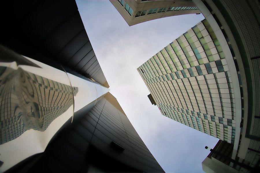 wierzowce biuro moderna bayer