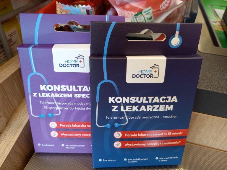 A new service available in Zabka stores – a telemedicine voucher